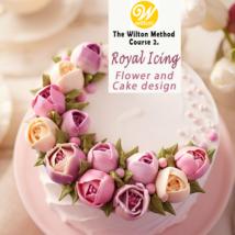 2021. 05. 09. (vasárnap) ÚJ Wilton 2. – Royal icingos virág tanfolyam