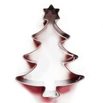 Csillagos karácsonyfa mézeskalács kiszúró