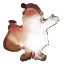 Mikulás mézeskalács sütikiszúró forma