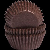 Muffin kapszli – barna 50 db-os