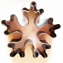 Óriás hópehely mézeskalács kiszúró – 7,5 cm