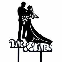 Nászpár - MR. and Mrs. fekete beszúró