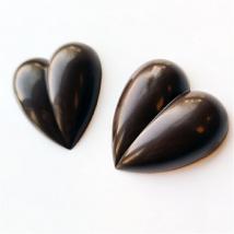 Polikarbonát bonbon forma - vágott szív