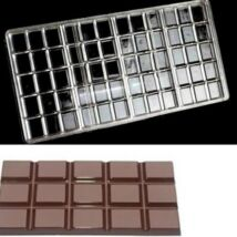 Polikarbonát táblás csokoládé forma