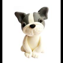 Cukorfigura - Francia bulldog kutyus