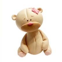 Cukorfigura - Maci rózsaszín folttal