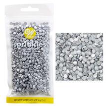 Szórócukor - ezüst konfetti