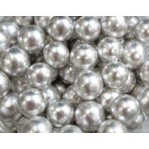 Cukorgyöngy - 8mm ezüst