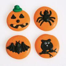 Halloween-es cukor minták - 12 db-os