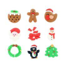 Cukordísz - Karácsonyi figurák