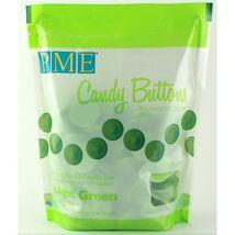 Candy Buttons pasztillák - világoszöld