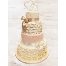Esküvői torta - 003