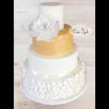 Esküvői torta - 001