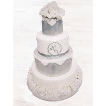 Esküvői torta - 004