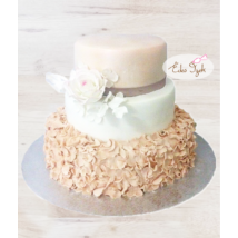 Esküvői torta - 008