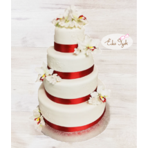 Esküvői torta - 012