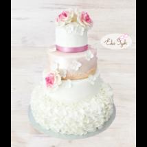 Esküvői torta - 010
