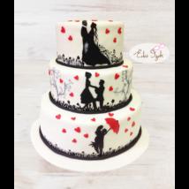 Esküvői torta - 013