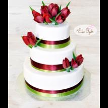 Esküvői torta - 009