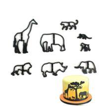 fondant-safari-kiszuro-szett