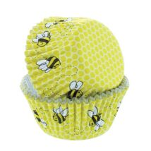Muffin papír - méhecskés