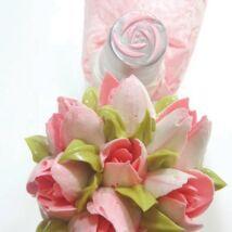 Díszítőcső - rózsa