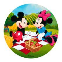 Torta ostya - Mickey és Minnie