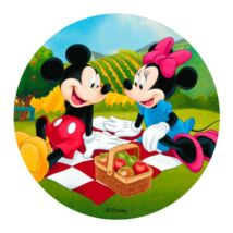 Torta ostya - Mickey és Minnie