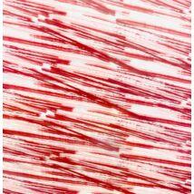 Csokoládé transzfer fólia - rózsaszín, piros csíkos
