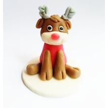 Marcipán figura - Rudolf szarvas
