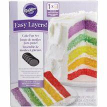 Easy Layers - tapadásmentes sütőforma szett 15,2 cm