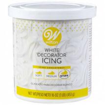 Fehér, konyhakész cukormáz - 453 gr