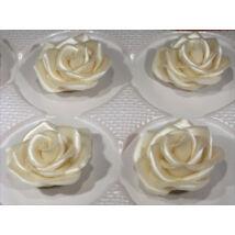 Marcipán rózsa - extra 13 (gyöngyházfényű)