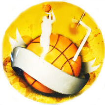 Torta ostya - kosárlabda