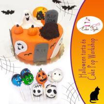 Halloween torta és cake pop workshop - 2020.10.18. (vasárnap)