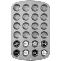 Tapadásmentes mini muffin sütőforma - 24 db-os, 5 év garanciával
