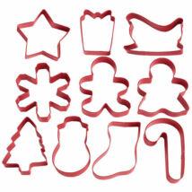 Karácsonyi kiszúró szett - 10 db-os Wilton