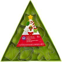 Karácsonyfa kiszúró szett - 7 db-os Wilton