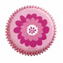 Muffin kapszli - pink party 75 db-os Wilton