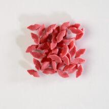 CC cukor confetti - piros csók
