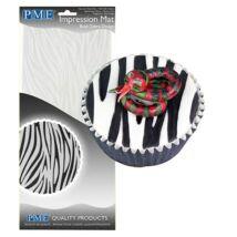 Mintázó sablon - zebra minta