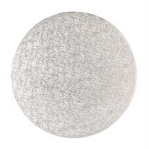 Tortadob - 25 cm ezüst
