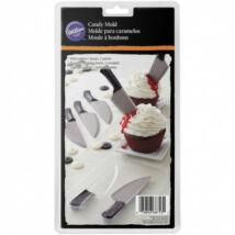 Kés csokoládé öntőforma