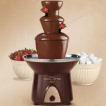 Csokoládé szökőkút - 3 emeletes