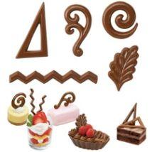 Csokoládé díszek - öntőforma