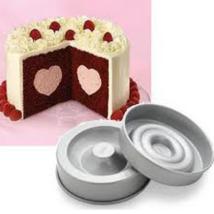 Szív alakú töltött tortaforma