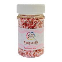 Nonpareils - vegyes rózsaszín, piros, fehér színben