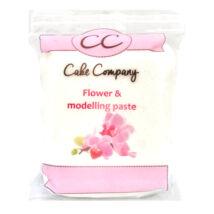 CC dekorációs- és virágmodellező massza - fehér színben