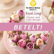 2021. 03. 21. (vasárnap) ÚJ Wilton 2. – Royal icingos virág tanfolyam