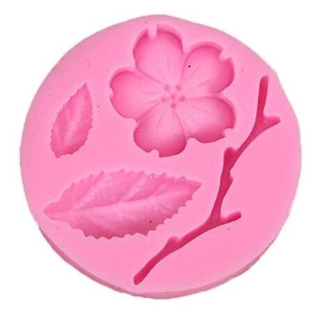 szilikon-fondant- cseresznyevirag-mintazo